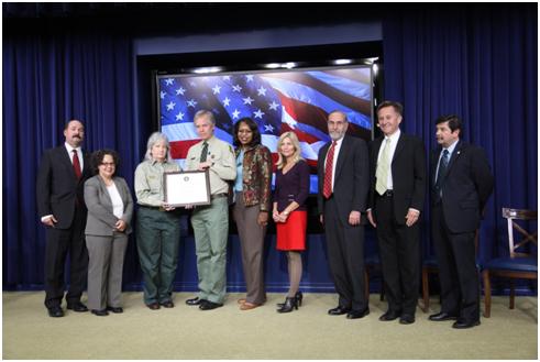 GreenGov Presidential Awards - Green Dream Team Award - San Dimas Technology and Development Center Net Zero Energy, et. al.