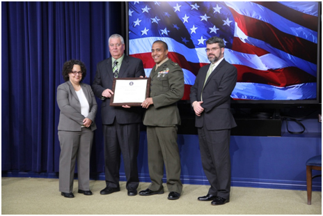 GreenGov Presidential Awards - Building the Future Award - USMC A Leader in Sustainable Practices