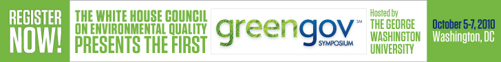 Click to Register Now for the 2010 GreenGov Symposium!
