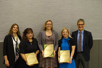 FY2017 Multi-Year GreenBuy Award Winners: GreenBuy Superior for earning gold 5 years – National Renewable Energy Lab; GreenBuy Prime for earning gold 3 years – Los Alamos National Lab, Office of Scientific and Technical Information, and Princeton Plasma Physics Lab.