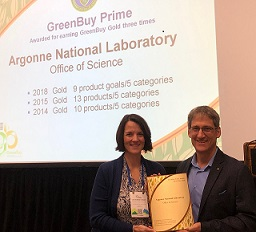 2018 Argonne National Lab Winner