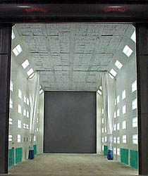 Motor Vehicle Paint Booth Image